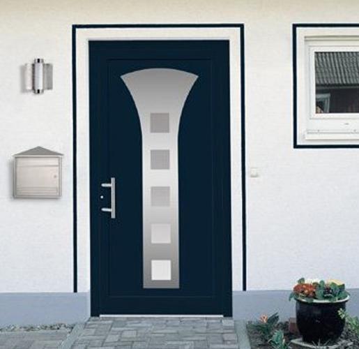 Bild einer modernen Haustür